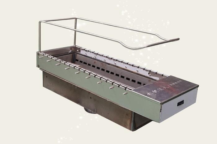 室内无烟全自动翻转烧烤设备一共分为多少种?