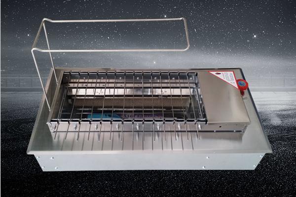 新款燃气无烟自动烧烤机