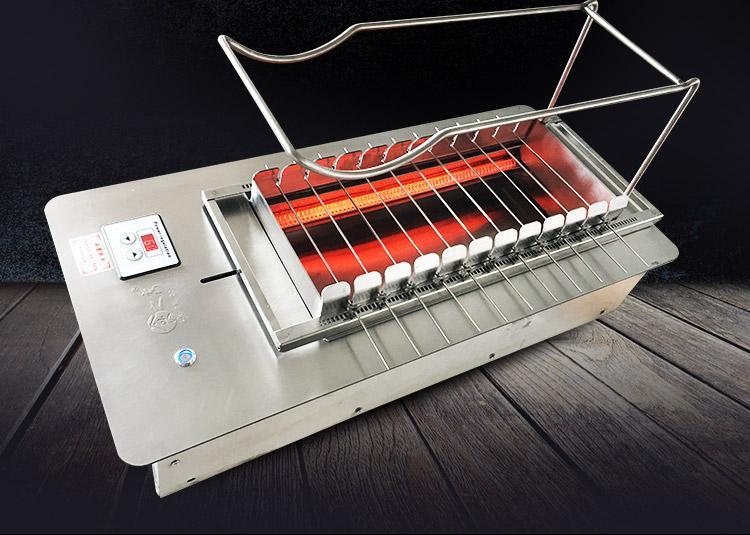 北京京建鹏达烧烤设备教你如何选择无烟烧烤机