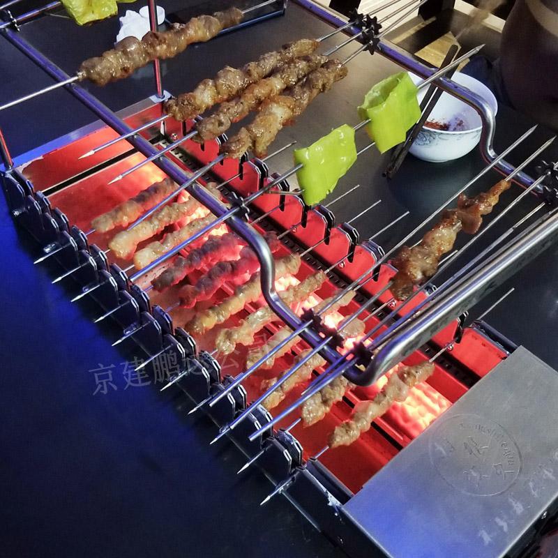 无烟烧烤模式的明火烧烤需要注意哪些事项?