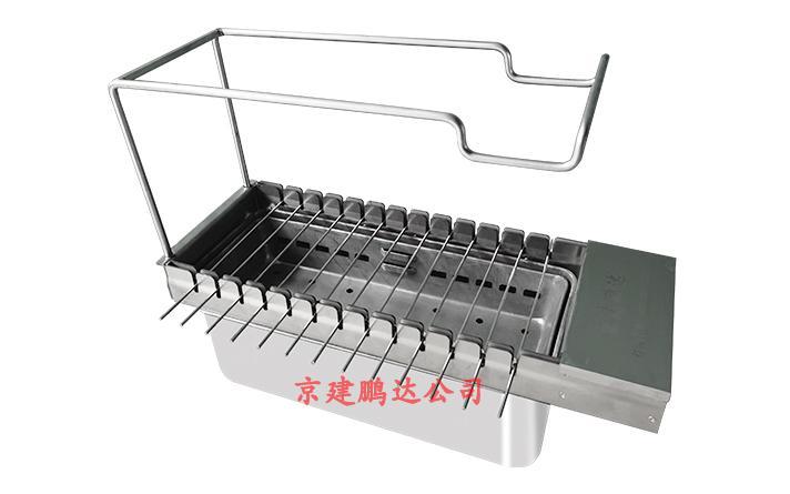 无烟烧烤设备13串自动无烟烧烤机