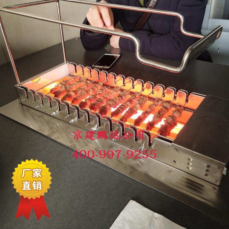 你知道全自动无烟烧烤店的烧烤炉真是无烟的吗?