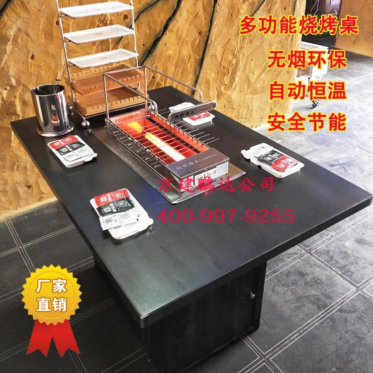 自动烤串的无烟烧烤机是真的实现无烟效果吗?